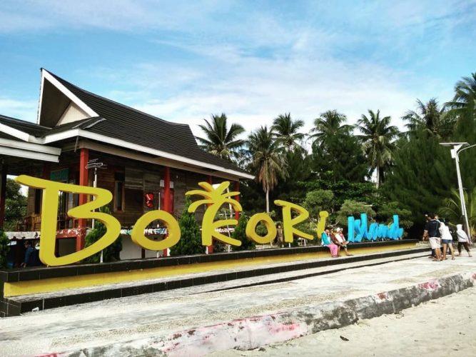 Wisata Kendari Pulau Bokori